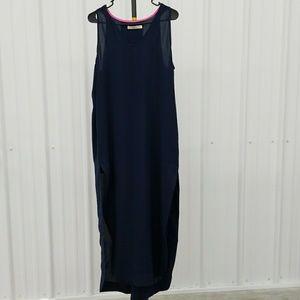 Einit long dress side slits BX1630